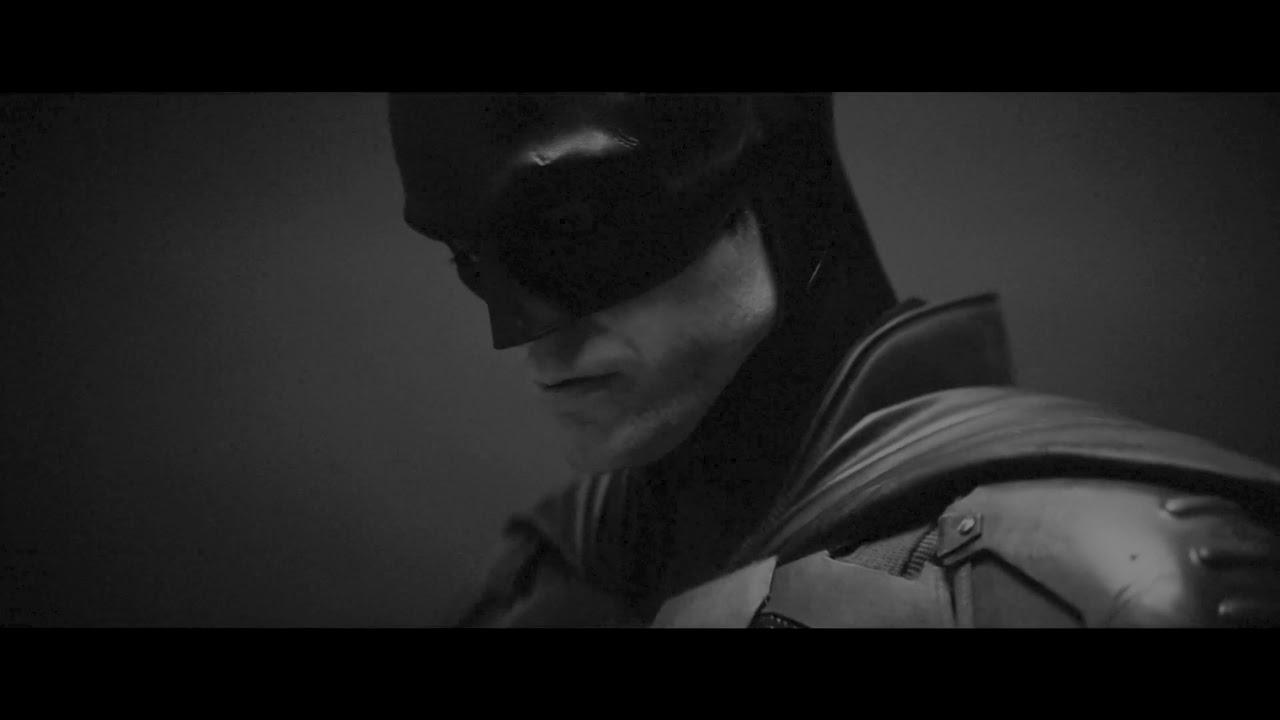 The Batman   Camera Test (in black/white and increased brightness)