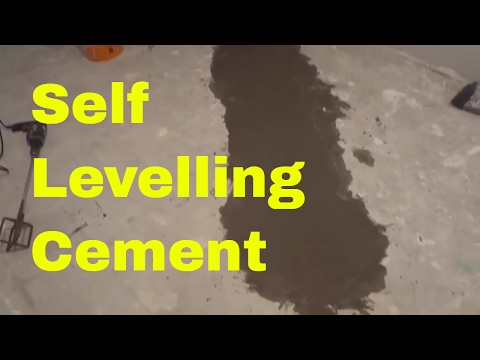 Using Self Levelling Cement In My Basement-DIY-Levelling A Concrete Floor