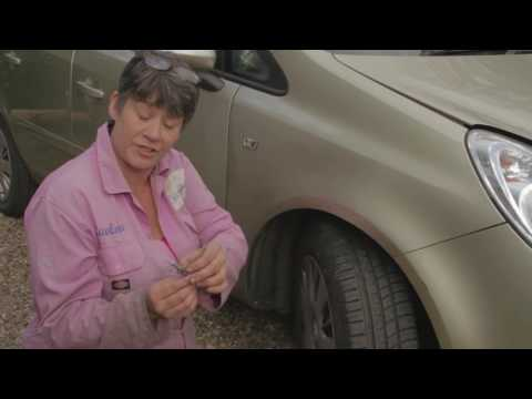A simple video, explaining  how to check your tyre condition and tread depth.