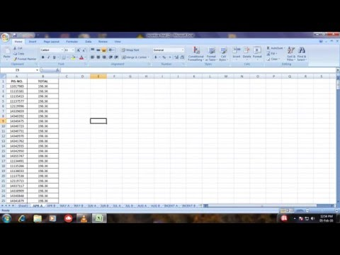 how to insert passord in excel