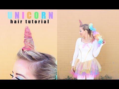 Unicorn Hair Tutorial | Twist Me Pretty | Halloween Tutorials