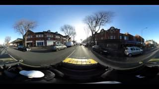 Moving Vehicle 360 Video Test