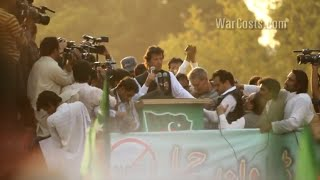 Imran Khan on US Drone Policy (2013) • BRAVE NEW FILMS