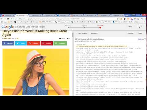 schema markup hindi - How to use and add schema rich snippets - Complete SEO Course Tutorial 2018