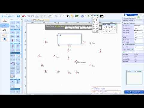 How I Create Schematics using EasyEDA