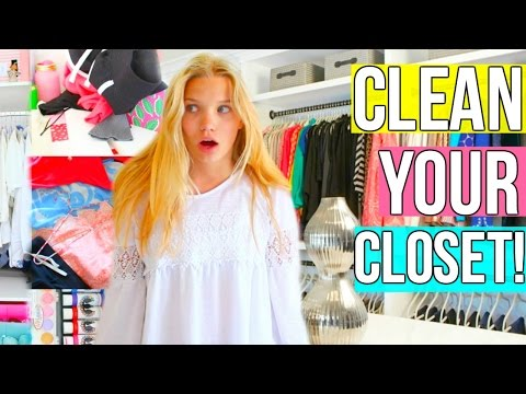 Cleaning My Closet +Organization Tips! Easy, Inexpensive & Quick!