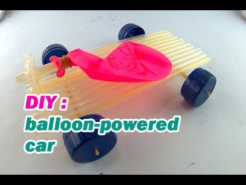 How to Make a Balloon Powered Car