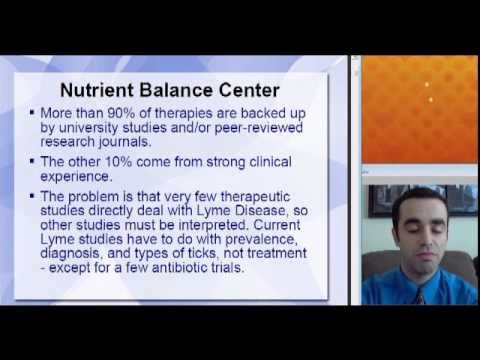 Chronic Lyme Disease: Natural Treatment Review Part 1 of 4