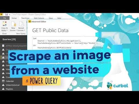 Get image URL from website - Part 1: Power Query Challenge