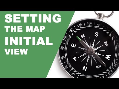 Setting The Initial View For Your Google Map