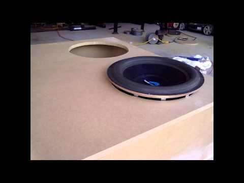 Subwoofer Enclosure Box Build For 2 15