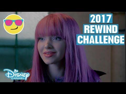 2017 Rewind Challenge | Descendants 2, Miraculous, Raven's Home & more | Official Disney Channel UK