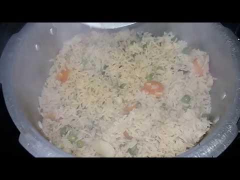 Vegetable pulav in Kannada