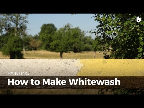 How to Make Natural Lime Whitewash   DIY Projects