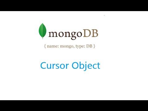 Cursor Object: MongoDB