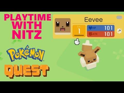 IS THIS PIXELMON?! (Pokemon Quest) (Playtime With Nitz)