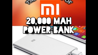 Mi 20000 mAh Power Bank (White) Unboxing