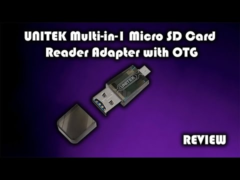 UNITEK Multi in 1 Micro SD Card Reader Adapter with OTG Review