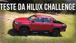 Teste da nova Toyota Hilux Challenge 2018