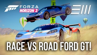 Ford Gt Race Vs Road Car Forza Horizon