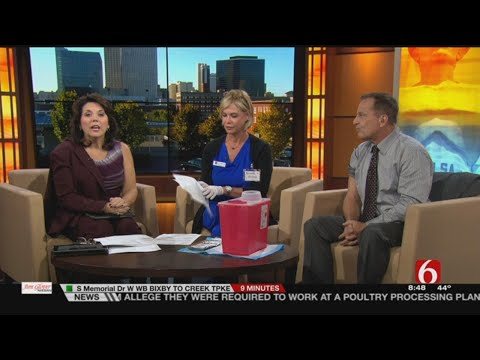 WEB EXTRA: 6 In The Morning Crew Took Time To Get Their Flu Shots