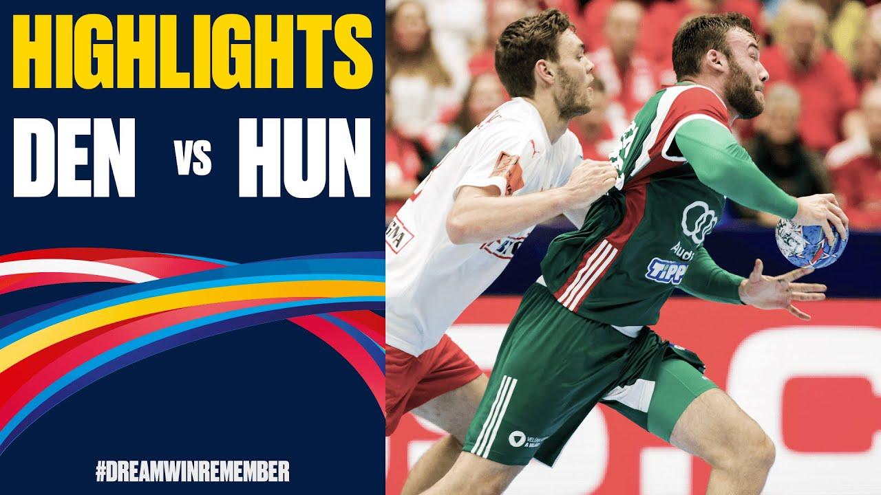 Denmark vs. Hungary Highlights | Day 5 | Men's EHF EURO 2020
