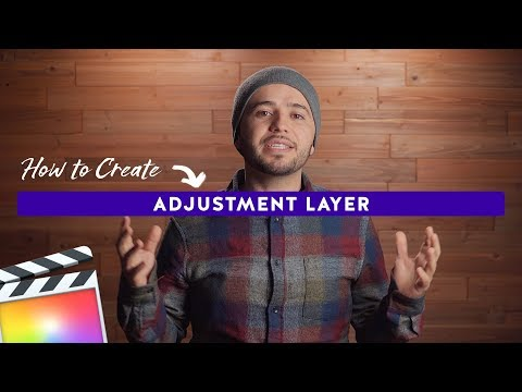 How to Create an Adjustment Layer for Final Cut Pro X