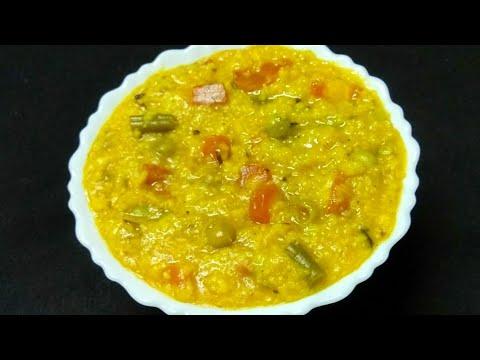 सुबह नाश्ते मे बनाये हेल्दी और स्वादिष्ट वेजिटेबल दलिया | Healthy Vegetable Dalia | Daliya Recipe.