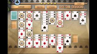 How To Play Lucas Solitaire - Fanstastic Pandora's Solitaire Collection