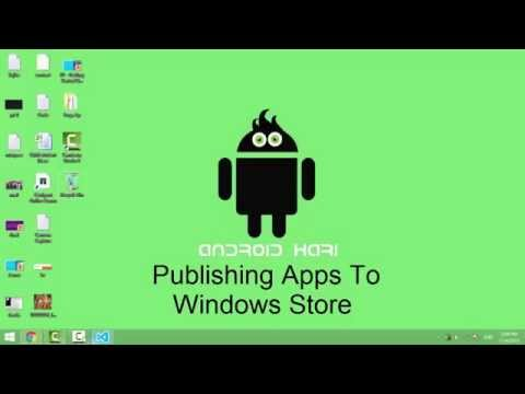 Publishing App to Windows Store Uploading packages to windows store