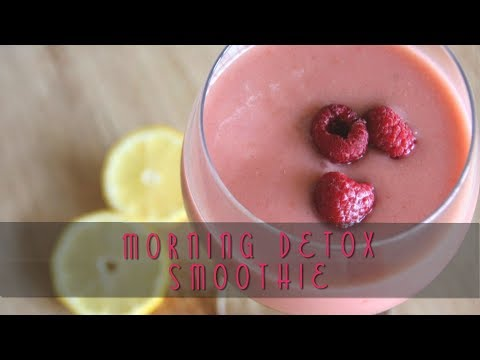 Hangover Cure! Refreshing Morning Detox Smoothie