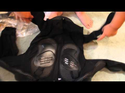 Full body armor chest protector gear unboxing