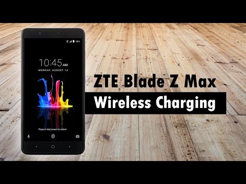 ZTE Blade Z Max - Wireless Charging