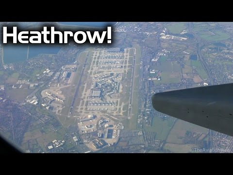 Beautiful views | Boeing 737 landing at London Stansted Airport