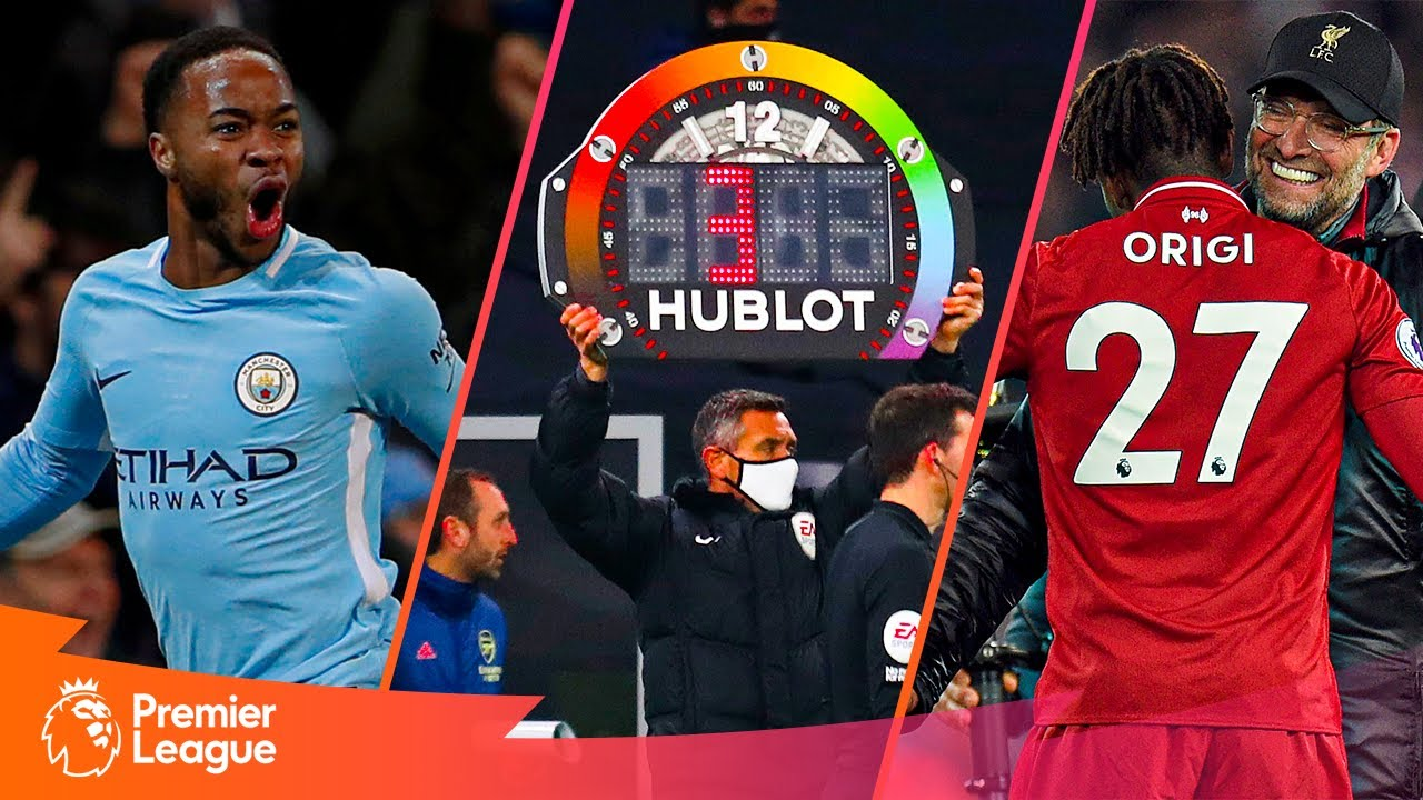 DRAMATIC LAST-MINUTE GOALS   Premier League   Sterling, Origi, Bale & more!
