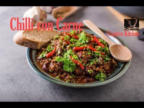 Chilli con carne recipe #creativekitchen