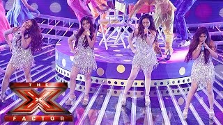 4th Impact work it out... Beyoncè style!   Live Week 3   The X Factor 2015