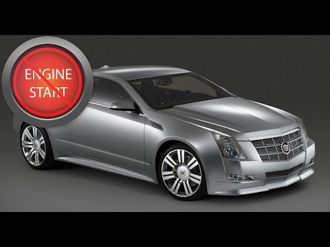 Cadillac CTS, ELR and Chevy Corvette: Open, start push button start with a dead key fob battery.