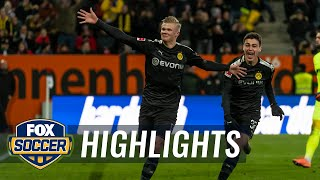 Erling Haaland scores 23-minute hat trick in Borussia Dortmund debut | 2020 Bundesliga Highlights
