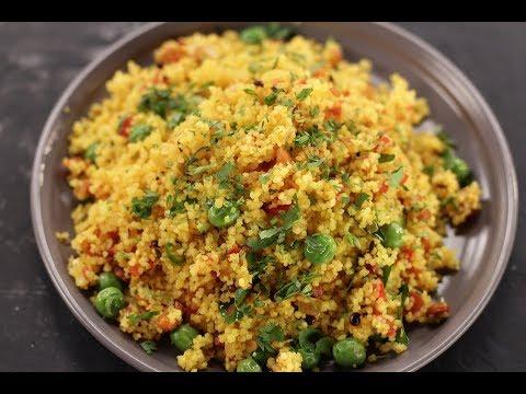 Couscous Upma | Sanjeev Kapoor Khazana