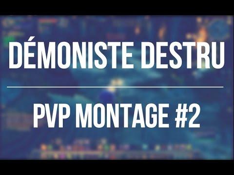 WoW Légion / démoniste destru pvp montage #2