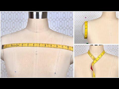 How to take body measurement for women /  Cara ukur badan wanita