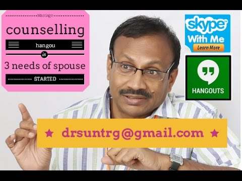Marriage Counselling - 3 Needs of every spouse