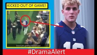 Jake Paul KICKED OUT of Dallas Cowboys Game! #DramaAlert (FOOTAGE!) PewDiePie vs The Community!