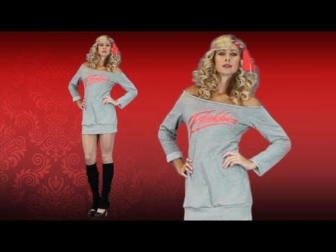 Sexy Flashdance Sweatshirt - 80s Halloween Costume