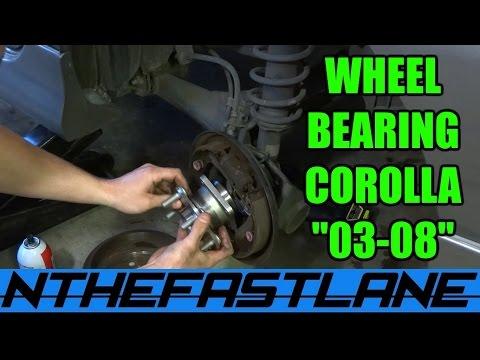 Wheel Bearing Hub: How To Replace (REAR)