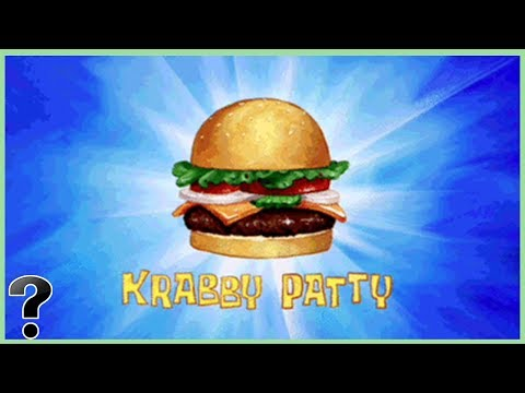 What Is A Krabby Patty Made Of? - SpongeBob SquarePants