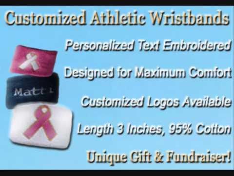 Custom Athletic Wristbands & Headbands