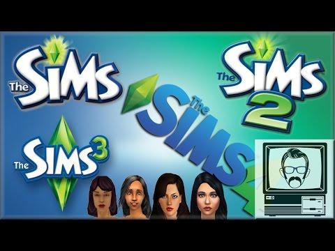 Sims 1 vs Sims 2 vs Sims 3 vs Sims 4 | Nostalgia Nerd