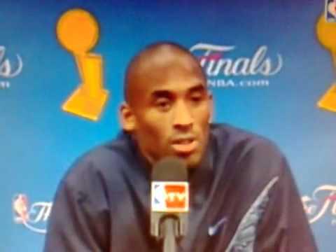 Kobe speaking Italian!!!
